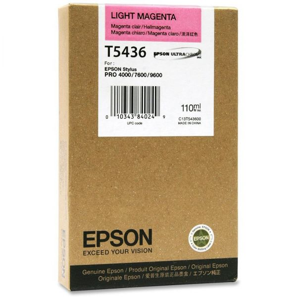 Epson T5436 Light Magenta Ink Cartridge