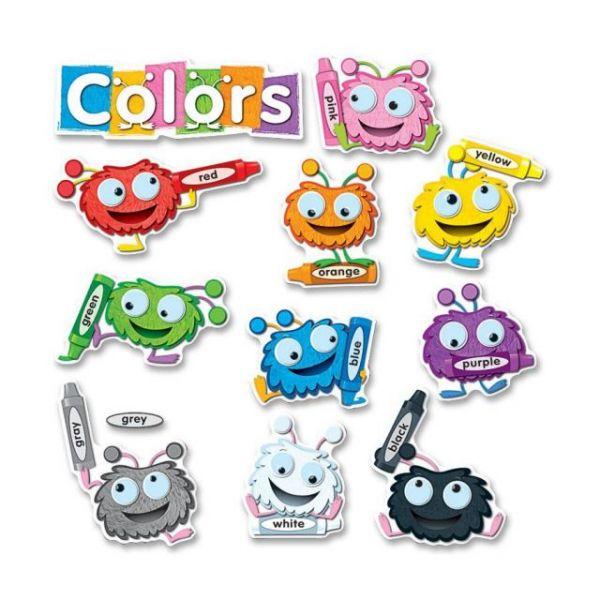 Carson-Dellosa Color Critters Bulletin Board Set