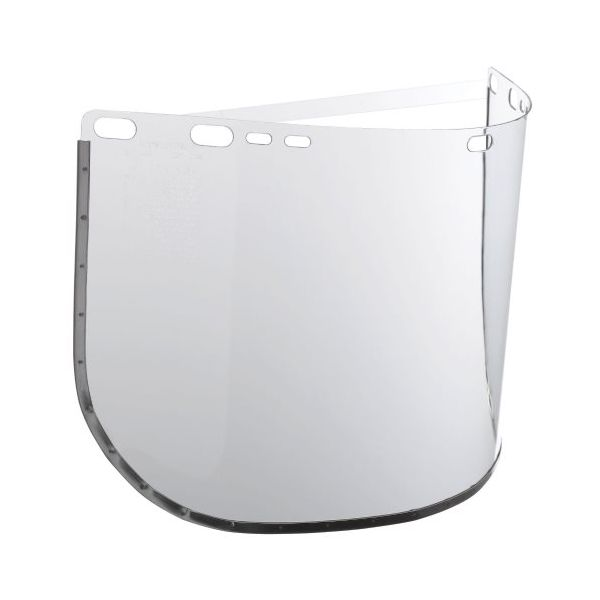 "Jackson Safety* HUNTSMAN F30 Face Shield Visor, 15 1/2"" x 8"", Clear"