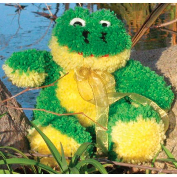 Huggables Stuffed Toy Latch Hook Kit 14""