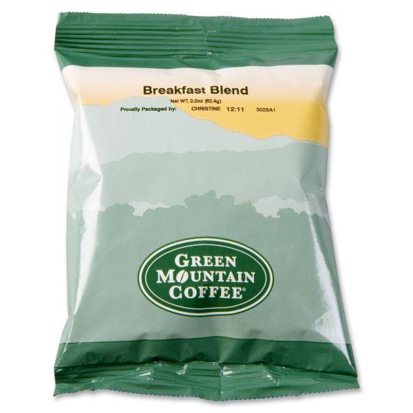 Green Mountain Coffee Breakfast Blend Coffee Fraction Packs