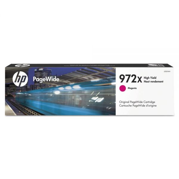 HP 972X High-Yield Magenta Ink Cartridge (L0S01AN)