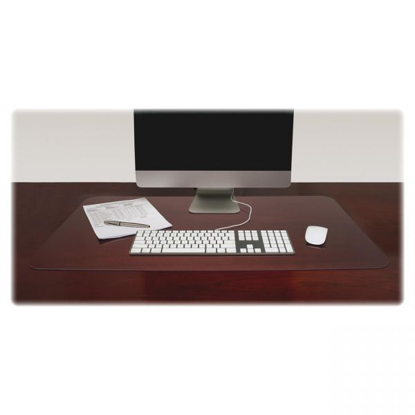 Lorell Rectangular Crystal-clear Desk Pads