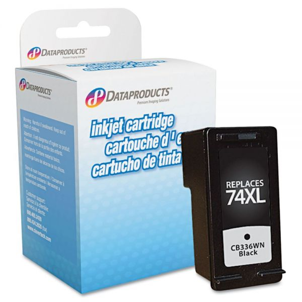 Dataproducts Remanufactured CB336WN (74XL) High-Yield Ink, 750 Page-Yield, Black