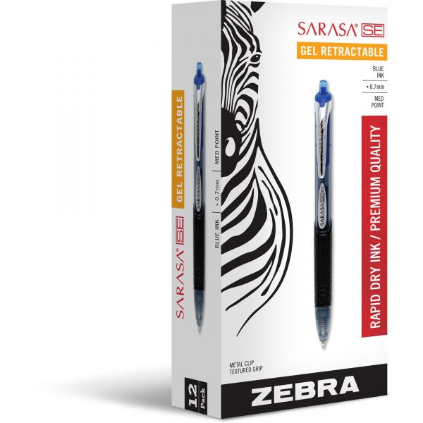 Zebra Sarasa SE Retractable Gel Pens