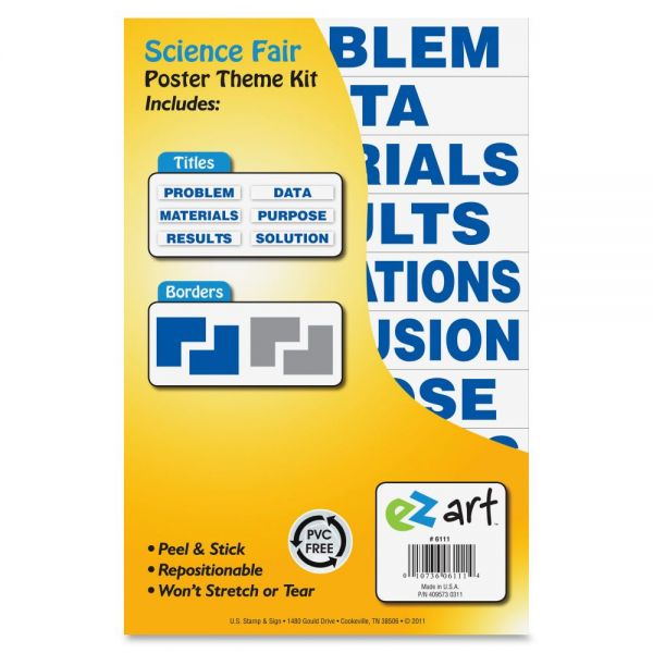U.S. Stamp & Sign Science Fair Theme Kit