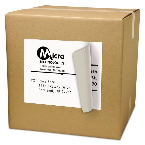 Avery Full-Sheet Labels with TrueBlock Technology, Laser, 8 1/2 x 11, White, 100/Box