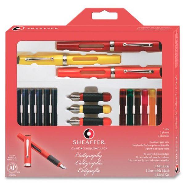 Sheaffer Classic 3-Pen Calligraphy Kit