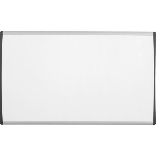 "Quartet 24"" x 14"" Arc Magnetic Painted Steel Cubicle Dry Erase Whiteboard"