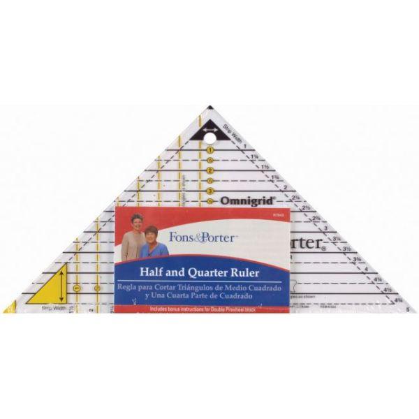 Fons & Porter Half & Quarter Ruler