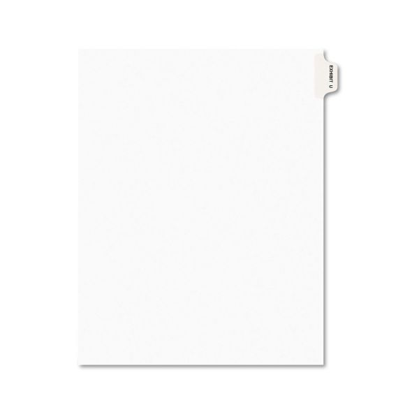 Avery Side-Tab Legal Exhibit Index Dividers