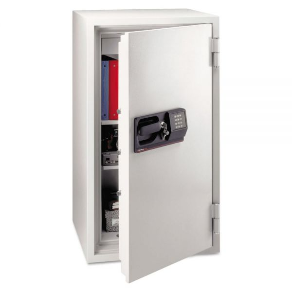 Sentry Safe Commercial Electronic/Tubular Key Fire Safe, 624lbs, 5.8 Cu. Ft., Gray