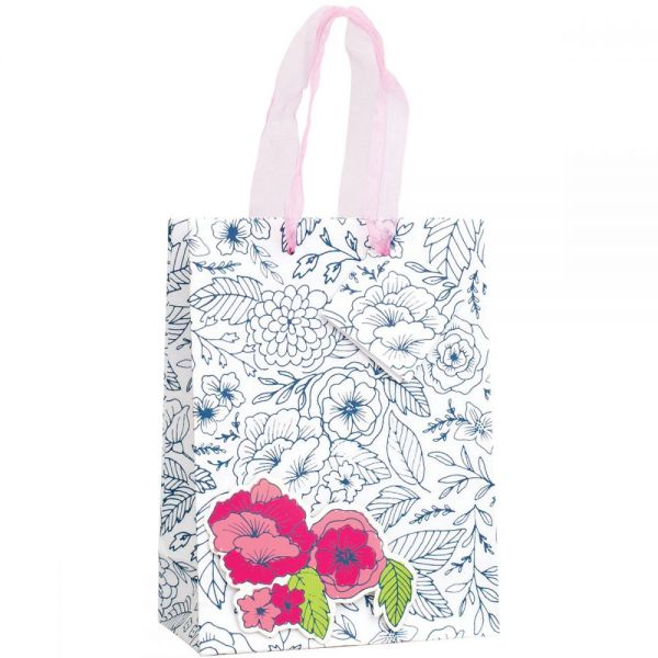"Gift Bag W/Ribbon Handles & Gift Card 6.5""X7.5""X3"""