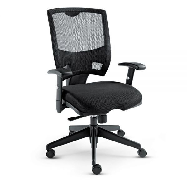 Alera Epoch Series Multifunction Mesh Mid-Back Office Chair