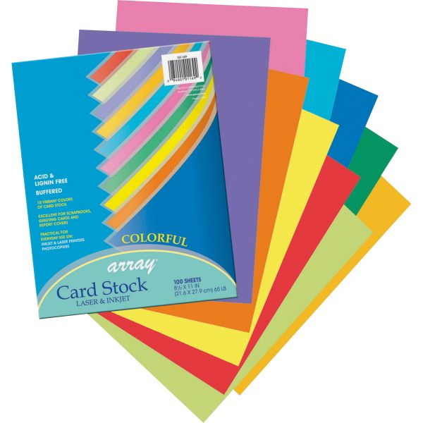 Pacon Array Printable Multipurpose Card Stock