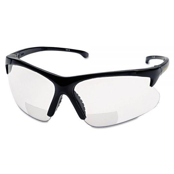 Smith & Wesson V60 30 06 Reader Safety Eyewear, Black Frame, Clear Lens