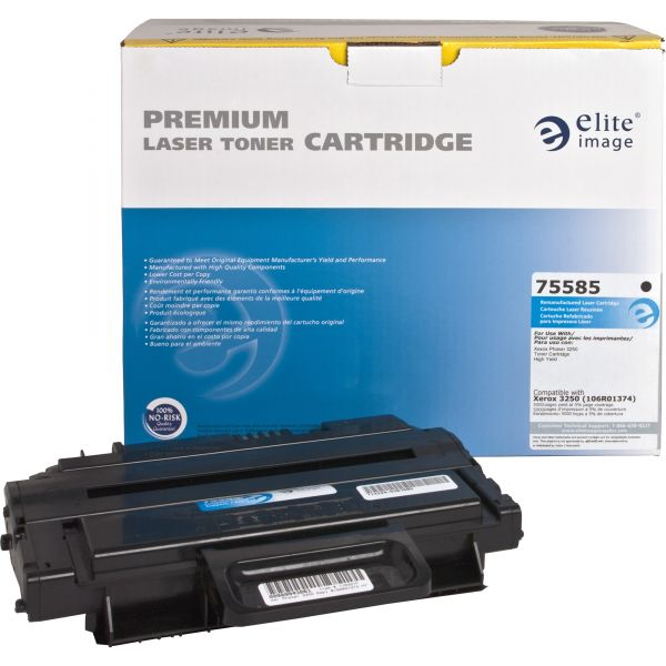 Elite Image Remanufactured Toner Cartridge - Alternative for Xerox (106R01374)