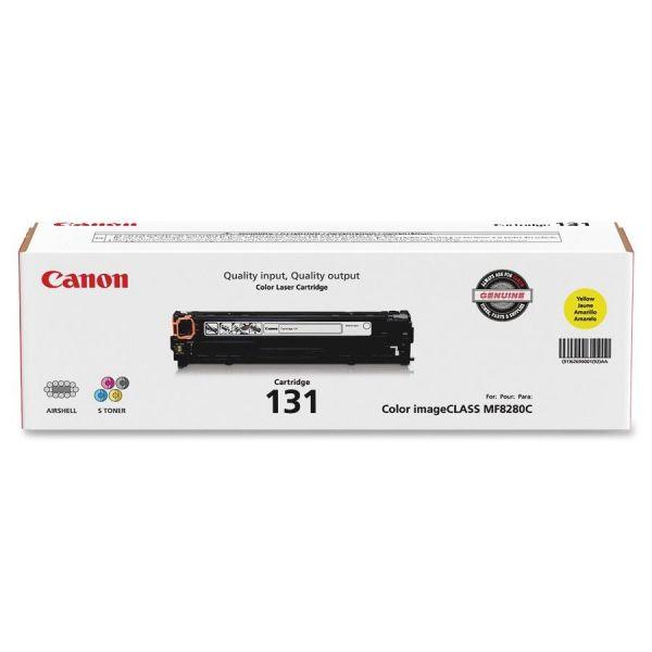 Canon 131 Yellow Toner Cartridge (6269B001AA)