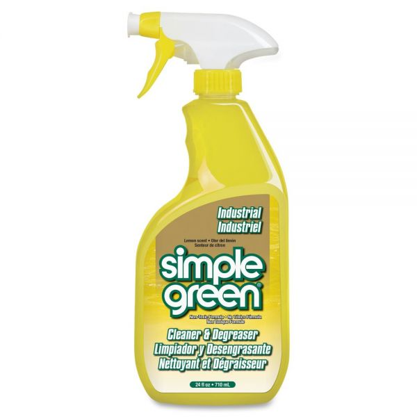 Simple Green Industrial Cleaner and Degreaser - Lemon Scent