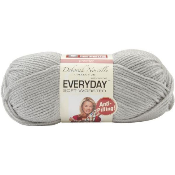Deborah Norville Collection Everyday Soft Worsted Yarn - Mist