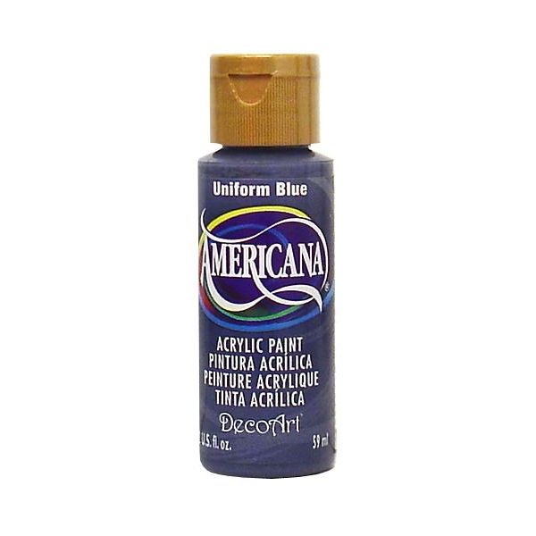 Deco Art Uniform Blue Americana Acrylic Paint
