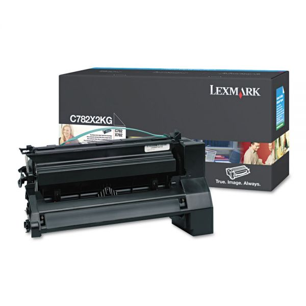 Lexmark C782X2KG Black Extra High Yield Toner Cartridge