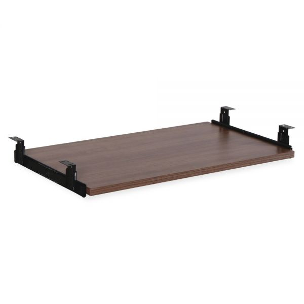 Lorell Essential Srs Walnut Laminate Keyboard Tray