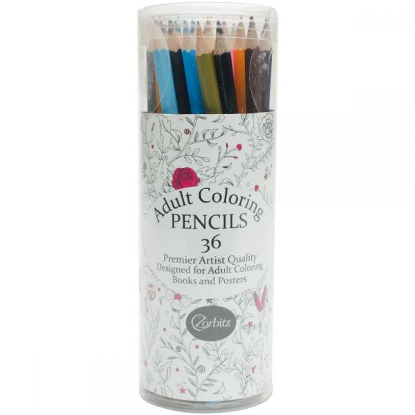 Zorbitz Adult Coloring Pencils
