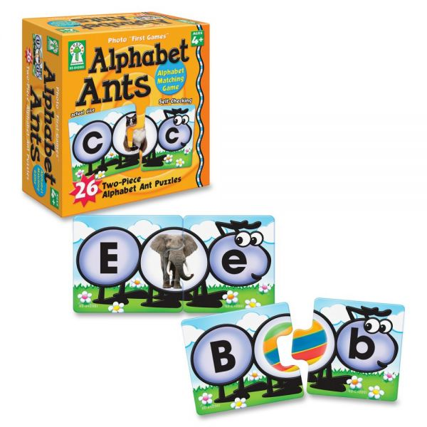 "Photo ""First Games"": Alphabet Ants"