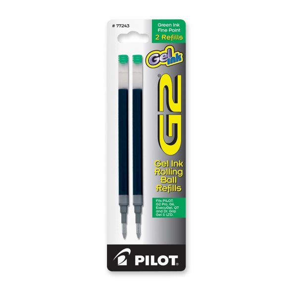 Pilot G2 Gel Ink Rollerball Pen Refills
