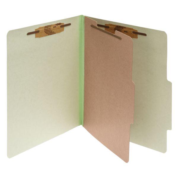 Acco 1-Divider Pressboard Classification Folders