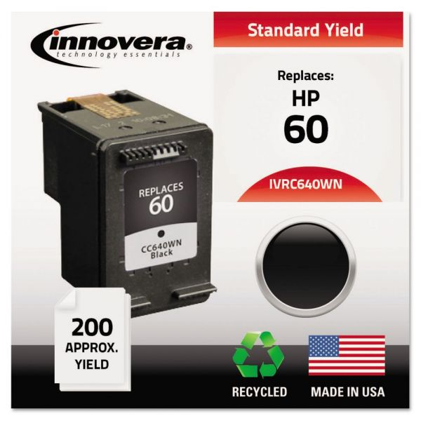 Innovera Remanufactured CC640WN (60) Ink, Black