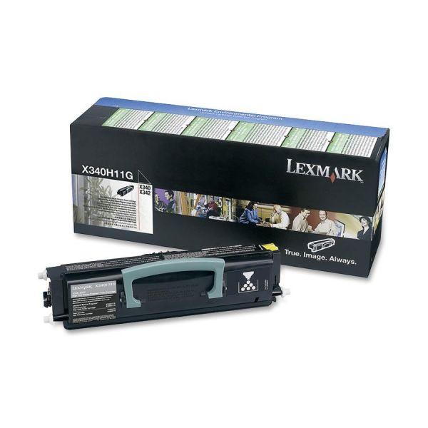 Lexmark X340H11G Black High Yield Return Program Toner Cartridge