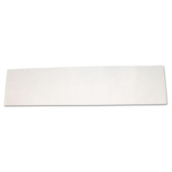 Diversey Disposable Microfiber Mop Pad, Wet Mop, White, 60cm, 2/Carton