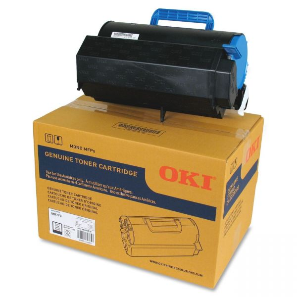 Oki 45460510 Black Toner Cartridge