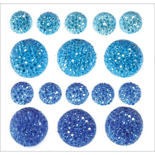 Sparklets Self-Adhesive Rhinestone Clusters 16/Pkg