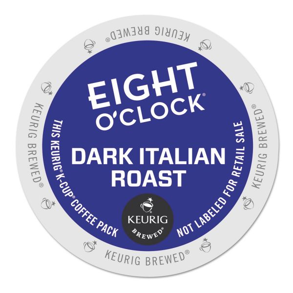 Eight O'Clock Dark Italian Roast Coffee K-Cups
