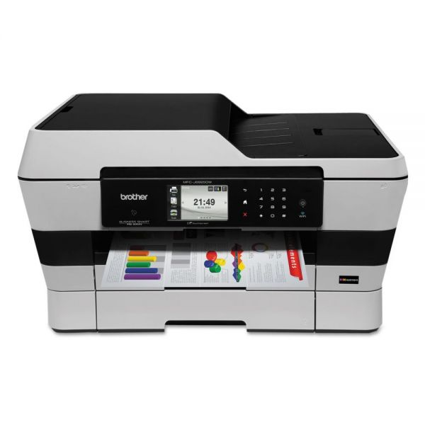 Brother Business Smart Pro MFC-J6925DW Wireless MFP with INKvestment Cartridges
