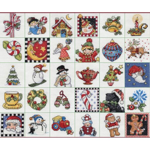 Mary Engelbreit Ornaments Counted Cross Stitch Kit