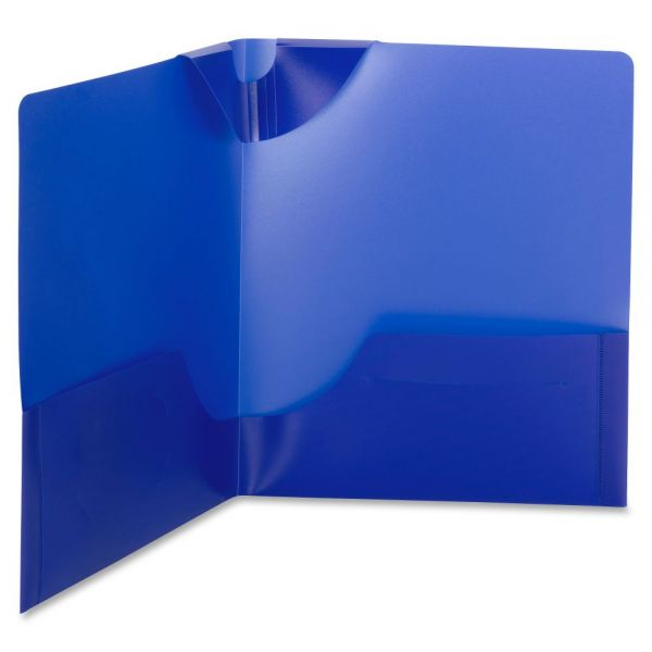 Smead Lockit Two-Pocket Folders