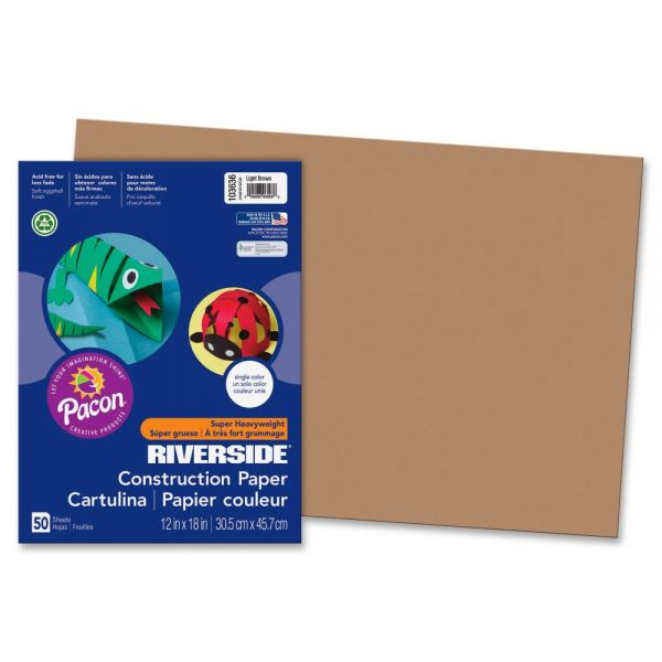 Pacon Groundwood Brown Construction Paper