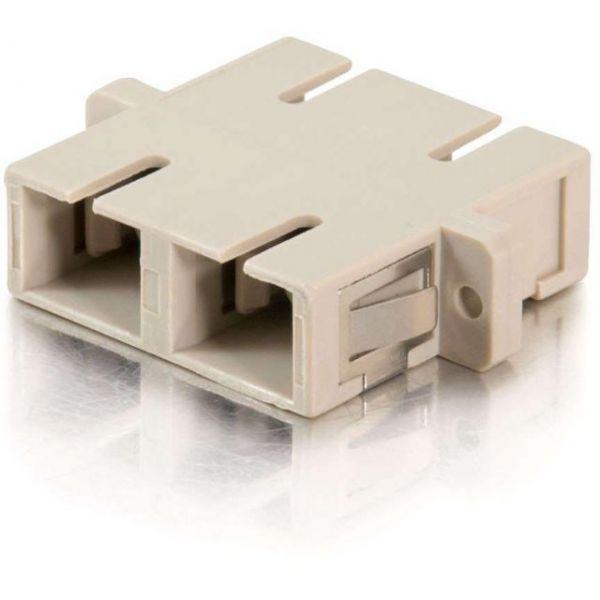 C2G SC Female to SC Female Duplex Fiber Adapter