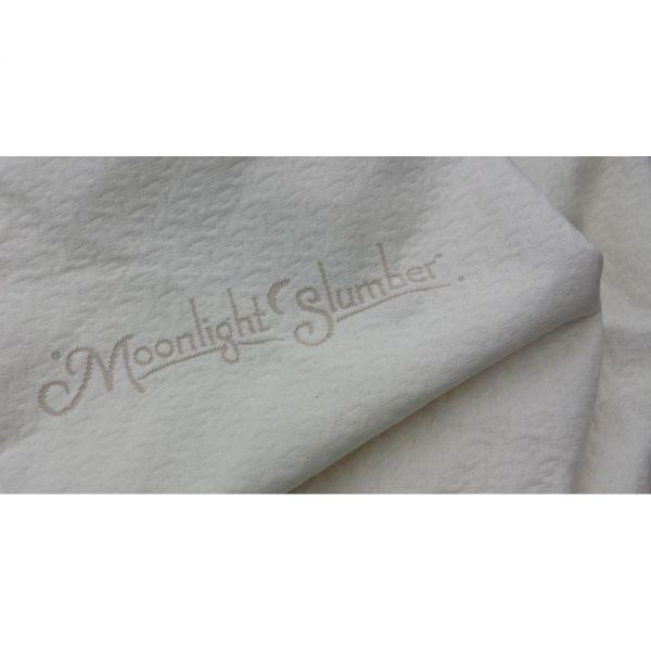 Moonlight Slumber Little Dreamer Naturals Organic Cotton Crib Mattress Cover (Waterproof)