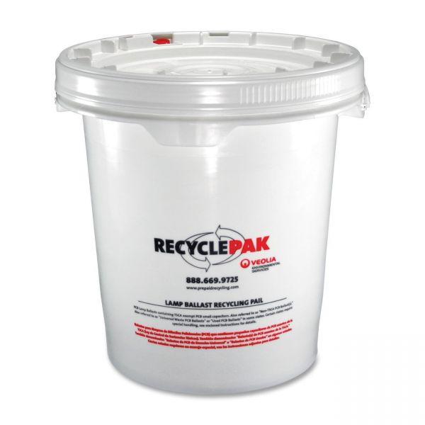 RecyclePak Strategic 5 Gallon Recycling Tub