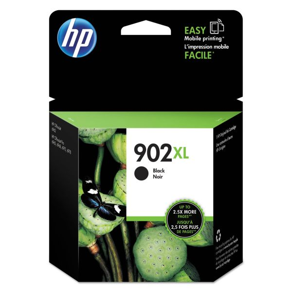 HP 902XL High-Yield Black Ink Cartridge (T6M14AN)