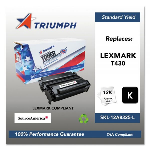 Triumph Remanufactured Lexmark T430 Toner Cartridge