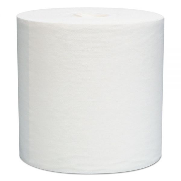 WypAll* L30 Towels, Center-Pull Roll, 8 x 15, White, 150/Roll, 6 Rolls/Carton