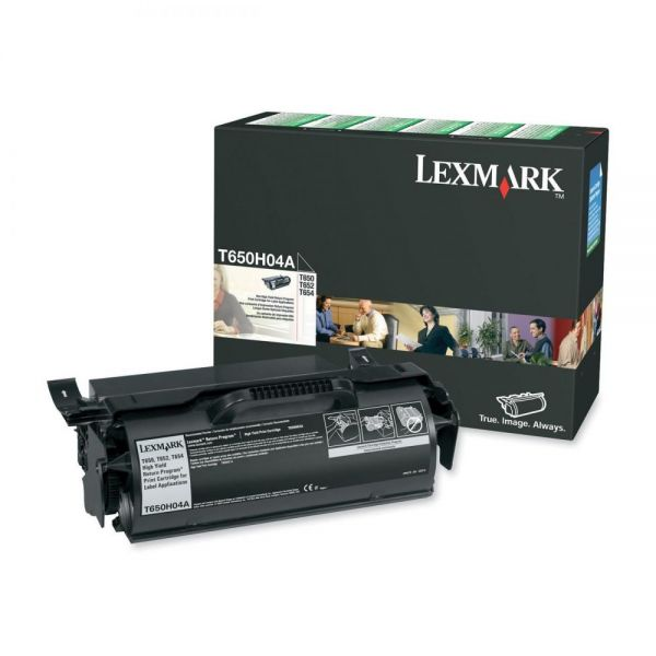 Lexmark T650H04A Black High Yield Return Program Toner Cartridge