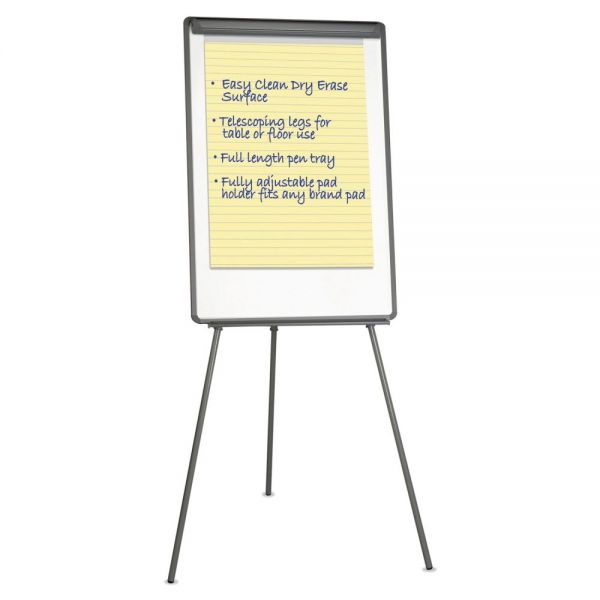 Universal Lightweight Dry Erase Tripod Easel