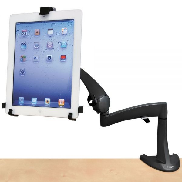 "Ergotron Neo-Flex Desk Mount Tablet Arm, Up to 10"" Tablet, Black"